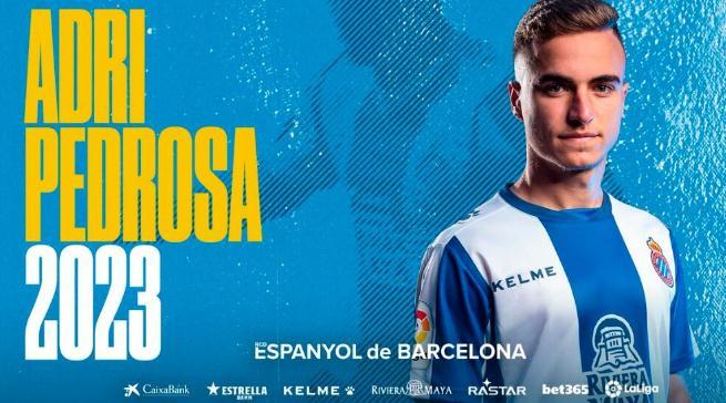 西班牙人官方:球队与佩德罗萨续约至2023年