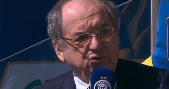 法足协主席:看内马尔踢球很快乐,但他总缺席关键比赛