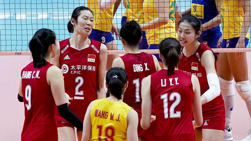 【战报】中国女排3-2逆转巴西女排,豪取世界杯6连胜!