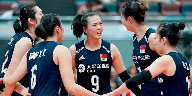 【战报】9连胜!世界杯中国女排3-1荷兰,提前两轮锁定奖牌