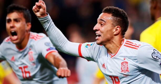 1分就够了!西班牙晋级2020年欧洲杯决赛圈
