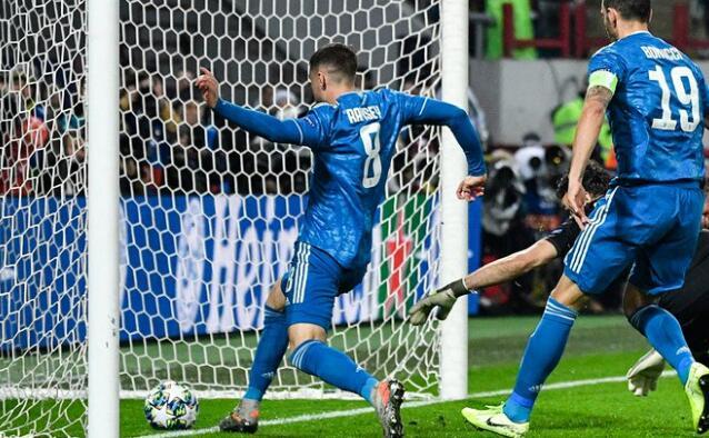 异乡人!拉姆塞成首位为尤文打进欧战进球的英国球员