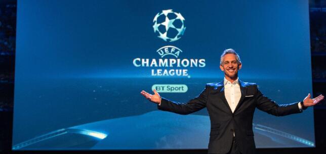 BT或拿下未来三年欧冠转播权,投标价格高达12亿英镑