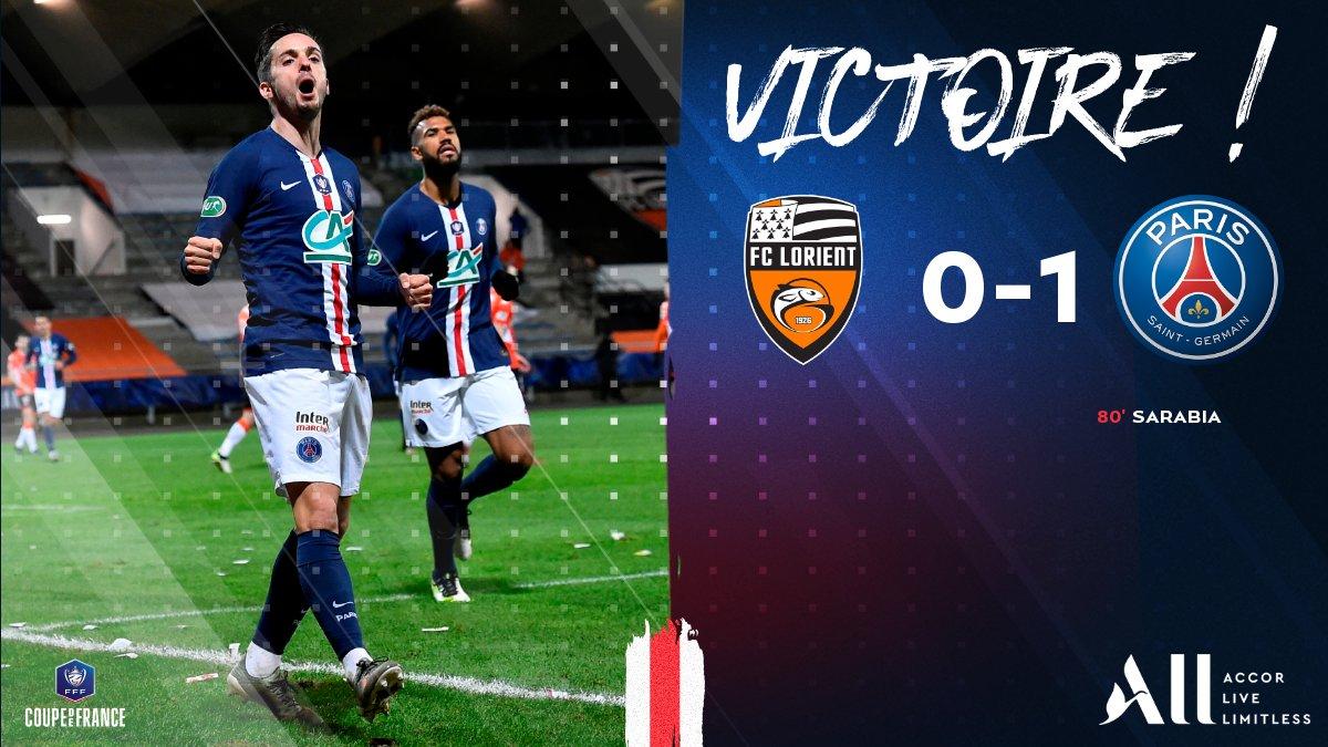 【战报】法国杯-萨拉维亚头球绝杀 巴黎1-0洛里昂晋级16强