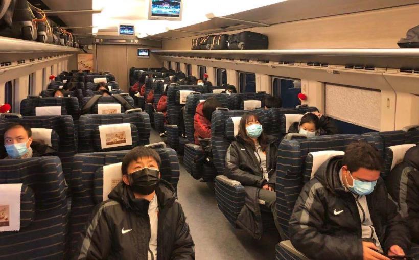 京媒:方便出行,铁道部门为中国女足单开一节车厢