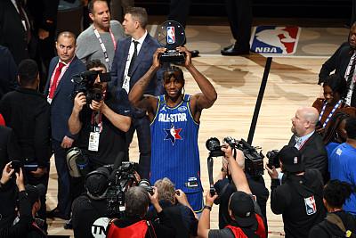 莱昂纳德成为第8位有多座总决赛MVP并获得全明星MVP的球员