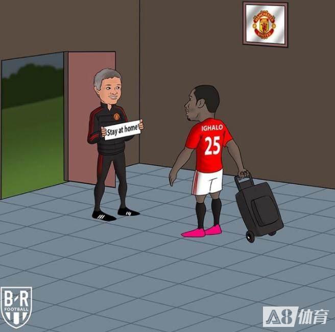 BR海报:伊哈洛拿着行李准备离开,索肖让他留了下来