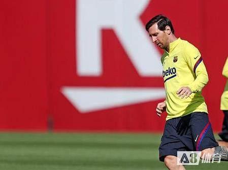 梅西未参加巴萨全队今天合练,俱乐部称球员无大碍