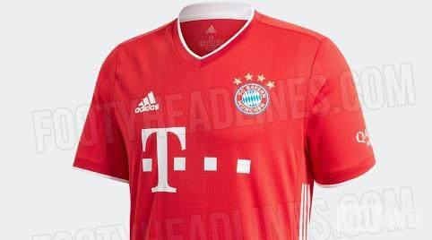 拜仁即使夺冠下赛季胸前仍4星,主场球员版球衣图网上曝光