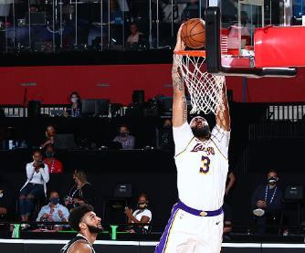 浓眉:我必须在篮板方面表现得更好,不能整场比赛只有2个篮板
