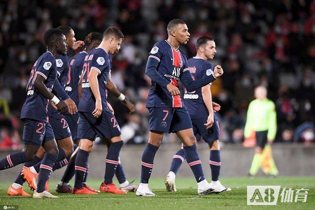 【战报】姆巴佩梅开二度萨拉维亚传射建功,大巴黎客场4-0尼姆