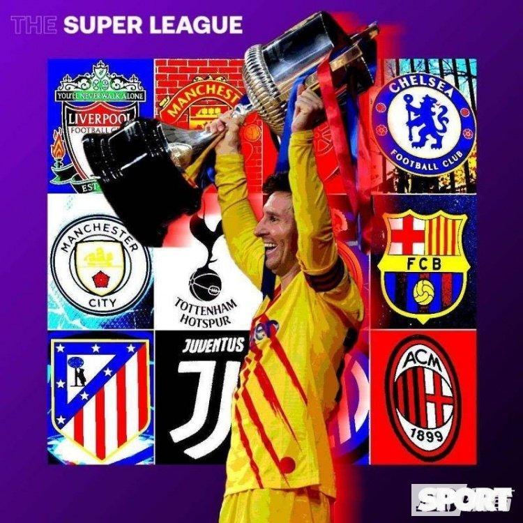 某机构:巴萨将成为首届欧超联赛的夺冠头号热门