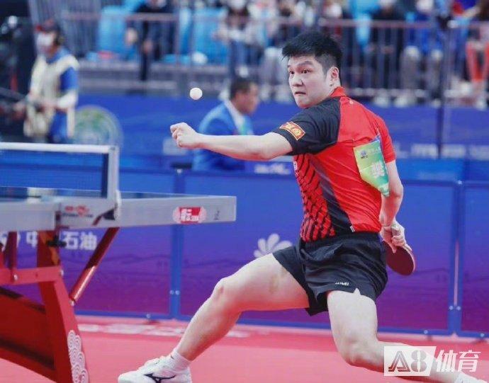 【全运战报】樊振东4-0横扫黑马刘丁硕,夺得全运男单冠军!